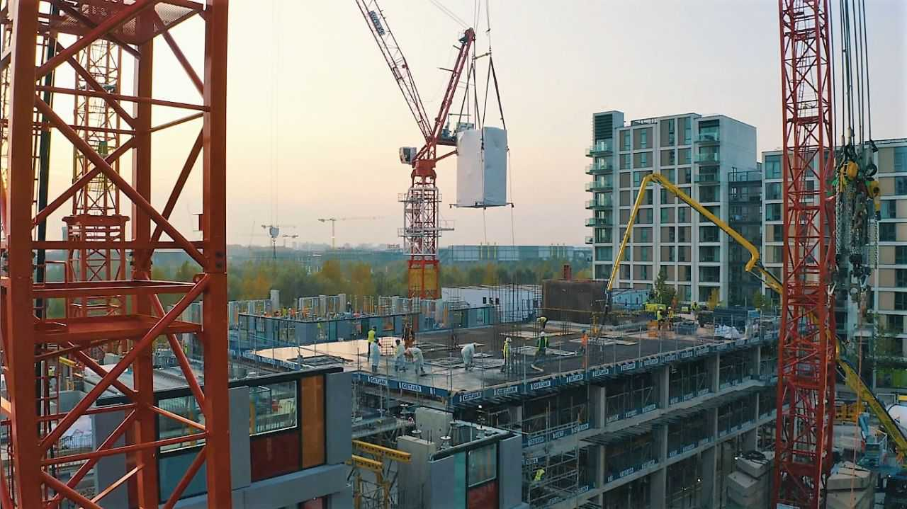 Alternative Heat complete shell and core MEP prefabrication package at East Village N06