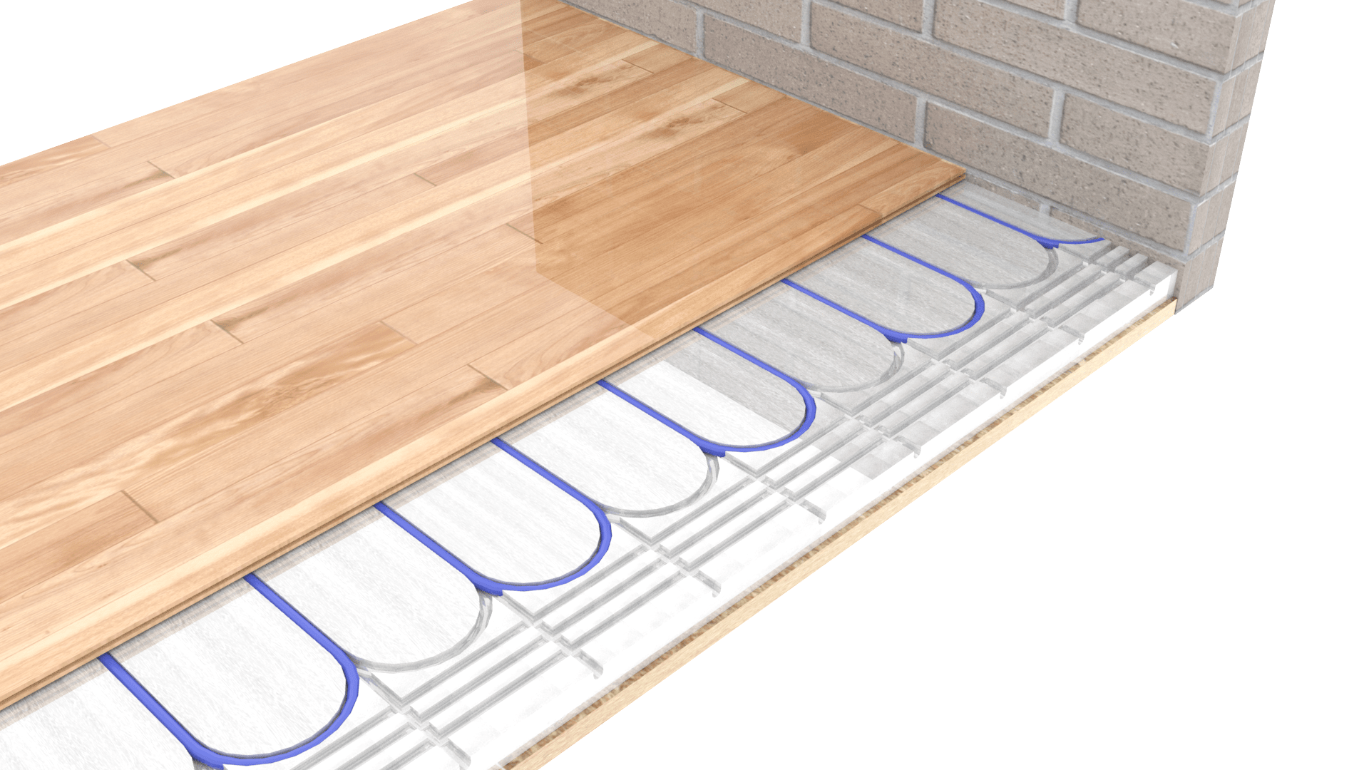 Compact Dry Floor Construction