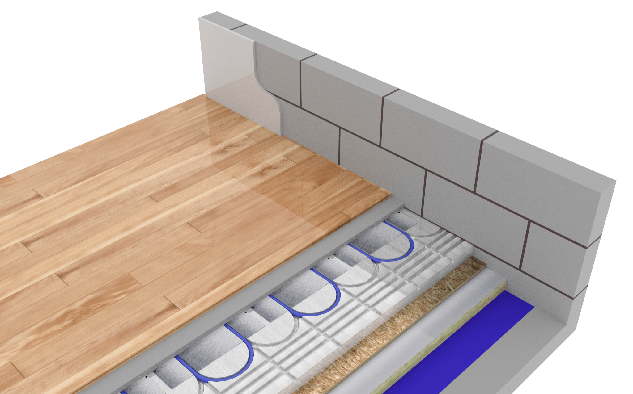 Compact Bespoke Solution Floor Construction